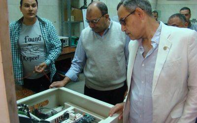 زيارة السيد المهندس عزت الصياد رئيس الشركة الورش المركزية