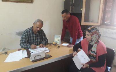 قام فريق المشاركة المجتمعية بالتعرف على حالة مياه الشرب والصرف الصحى بنطاق الوحدة المحلية كوم النصر التابعة لمركز المحمودية