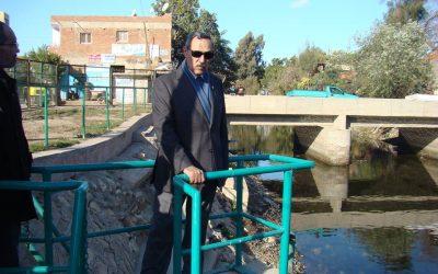 زيارة السيد المهندس عزت الصياد محطة مياه ابتوك وفرع شبراخيت