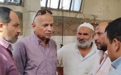 قام السيد المهندس محمد سعيد نشأت رئيس مجلس الاداره والعضو المنتدب بزيارة محطات وروافع الصرف الصحي بكفر الدوار