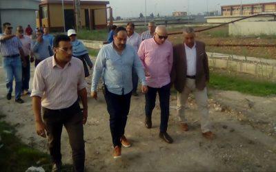قام السيد المهندس محمد سعيد نشأت رئيس مجلس الادارة والعضو المنتدب بزيارة محطة معالجة صرف صحي زلط بكفر الدوار