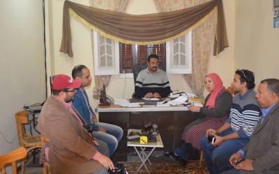 زيارة فريق المشاركة المجتمعية لقرى مشروع(PIU)
