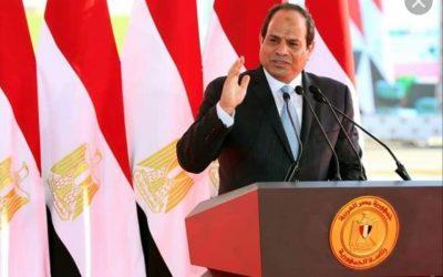 افتتح السيد عبد الفتاح السيسى رئيس الجمهورية محطة مياه المحمودية -محافظة البحيرة