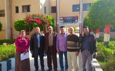 انطلاق فاعليات القافلة في مركز أبو حمص بقرية الجرادات