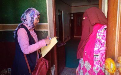 فى اطار خطة ادارة المشاركة المجتمعية – زيارة قرية دمشلى