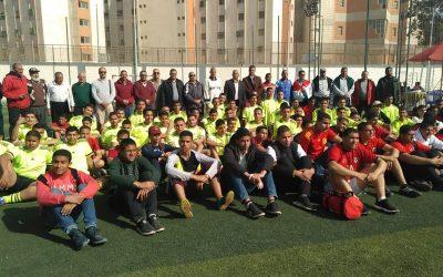 فوز مدرسة الشركة بالمركز الاول فى المسابقة الرياضية على مستوى المدارس التابعة للشركة القابضة