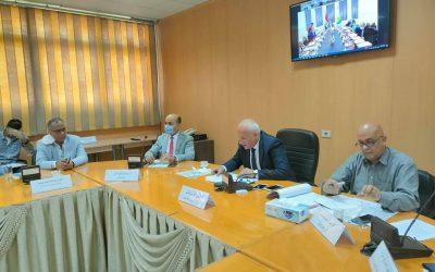 اعتماد الموازنة التقديرية لشركة مياه الشرب والصرف الصحي بالبحيرة عن العام المالي ٢٠٢١-٢٠٢٢